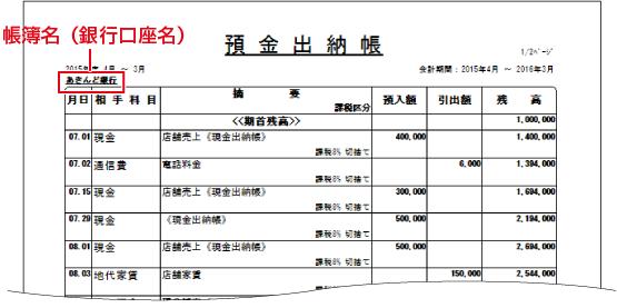 De-Net 出納帳5 オンラインマニ...
