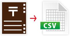 CSV書き出し・読み込み