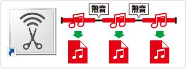 音楽自動切り分けツール